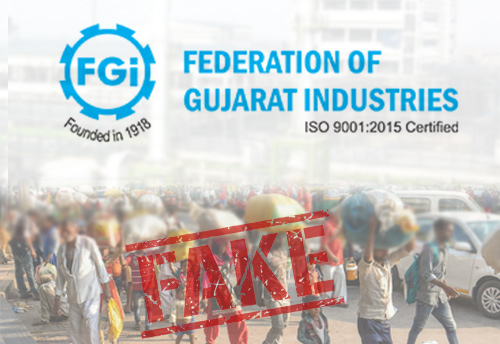 FGI rubbishes reports claiming migrant workers leaving Gujarat after hate attacks