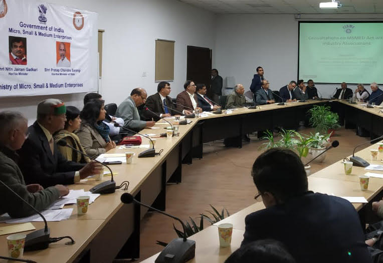 FISME holds consultations with industry associations on amendments in MSMED Act