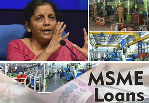 FM announces Rs 3 lakh crore collateral free loan for MSMEs