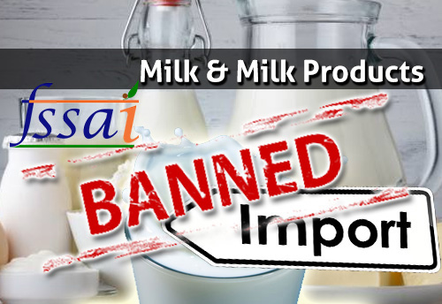 Ban on import of milk & milk products from China may be extended until the capacity of all laboratories at ports are upgraded for testing melamine: FSSAI