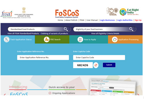 FSSAI launches Food Safety Compliance System; license, registration, inspection & more to be done through it