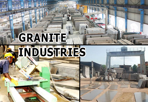 Only 50/ 290 granite agencies operational in Telangana;  poor market, slow infra & housing projects and costly labour putting burden on granite industry