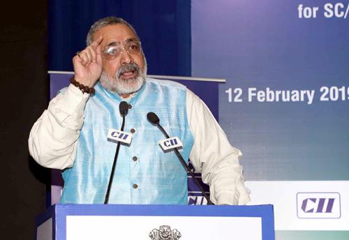 MSME Min Giriraj Singh urges banks to provide loans to youth, small entrepreneurs