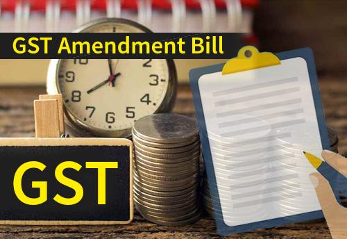 Govt introduces 4 GST amendment bills to help MSMEs