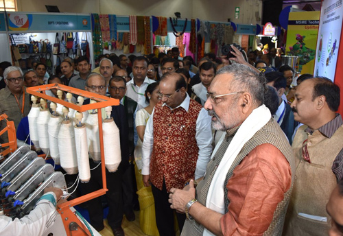Quality manufacturing and inclusive growth of village industries plays a key role in the development of the country: Giriraj Singh