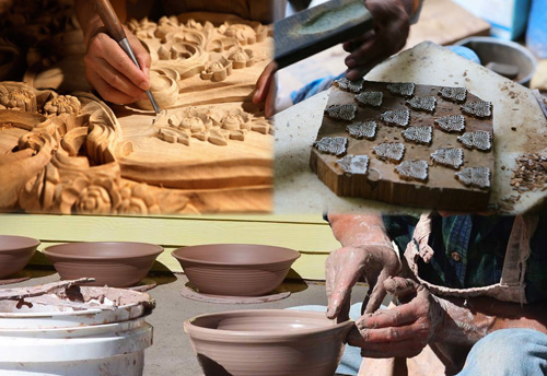About 500 artisans & craftsmen participate in 24th Hunar Haat Avadh Shilpgram in Lucknow