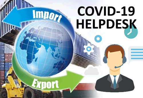 DGFT's COVID-19 helpdesk resolves 78 issues of 163