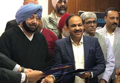 Punjab Govt inks pact with Hero Cycles to set up industrial park at Hi-tech cycle valley project in Ludhiana