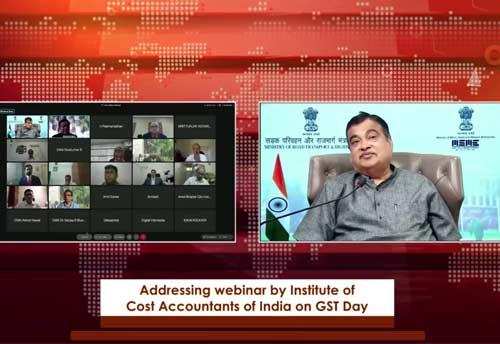 GST to help in achieving five trillion-dollar economy by 2025: Nitin Gadkari