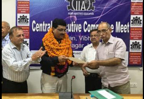 Lucknow industrialist Manish Goel re-elected as National President of Indian Industries Association