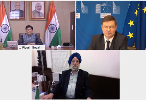 India-EU hold high-level dialogue on trade and investment