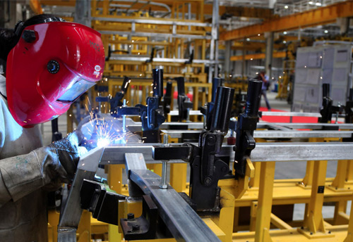 Industrial output growth drops to 0.5% in November