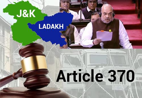 Govt declares J&K and Ladhak as UT; KNN speaks to industry representatives in J&K