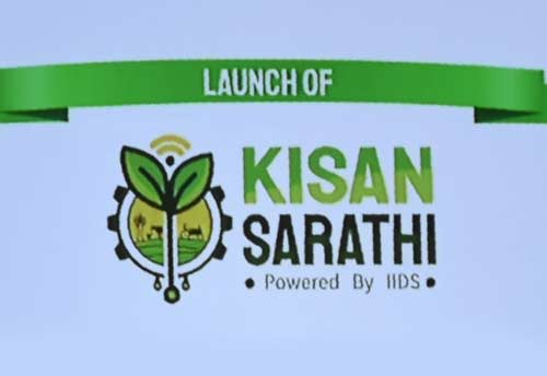 """Agriculture Minister has Launched a Digital Platform """"Kisan Sarathi"""" to Facilitate Farmers"""