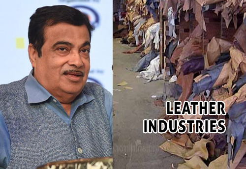 MSME minister suggests leather export industry to develop clusters in backward areas