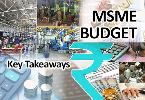 Key Takeaways for MSME Sector
