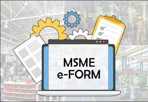 e-form MSME, form for furnishing half yearly return about payments due to MSEs, to be available on MCA website from May 1
