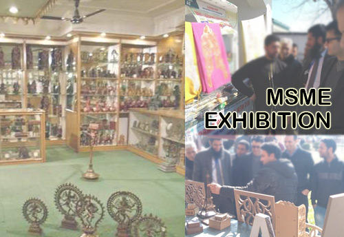 MSME exhibition concludes at Kashmir Haat promoting state's industry and local products