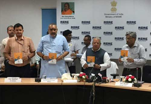 MSME Minister releases books on Ministry's Achievements, Schemes and on Data