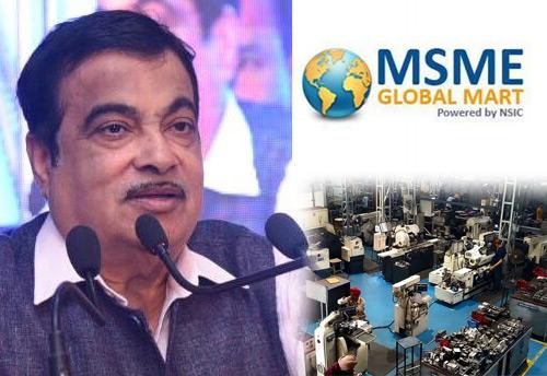MSME Global Mart portal offers a range of services, says Nitin Gadkari