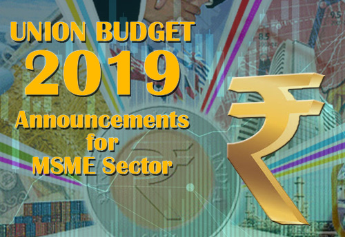 Announcements for MSME sector: Highlights