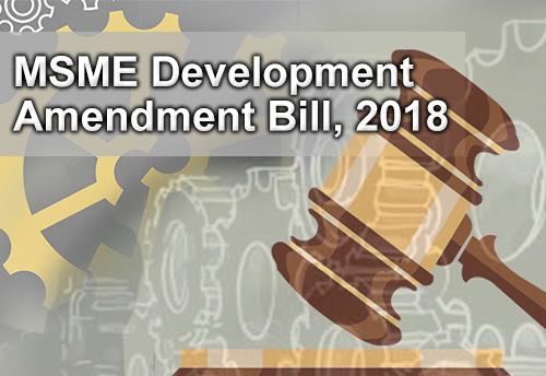 Parliamentary Standing Committee on Industry seeks views on MSMED (Amendment) Bill by Nov 2