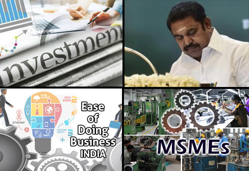 TN Cabinet clears investment proposals worth Rs 50,000 cr; Cabinet discusses EODB and MSME related agenda
