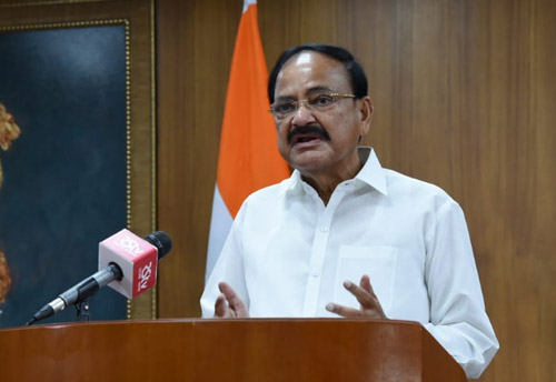 Vice President urges Indians to adopt 'Aatma Nirbhar Bharat campaign' to transform Local India into Global India
