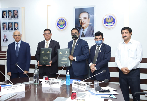 EPCES Signs MoU with ICAI to promote exports of accountancy and financial services
