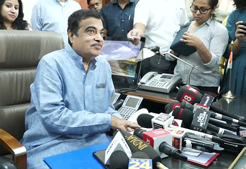 Gadkari resumes office as MSME Minister