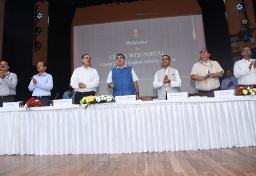 Gadkari launches CLCSS scheme for MSMEs