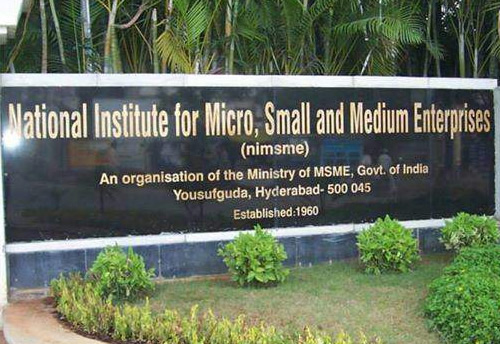 NI-MSME to organise three-day training prog on