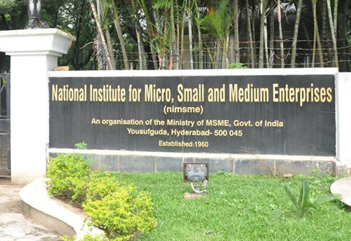 Ni-msme to organize one week training program on strategic approaches for MSME development