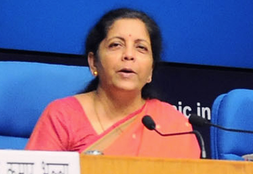 Defense Ministry to buy defense products from MSMEs for a period of 10 years: Sitharaman