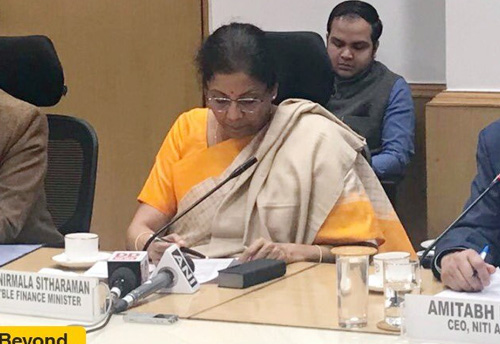 If required, govt would take steps beyond the announcement made in Budget: Sitharaman