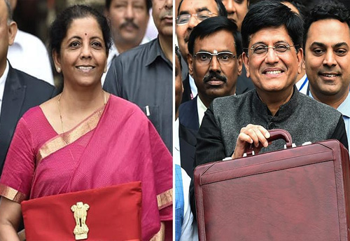 Sitharaman sets trend by carrying Bahi Khaata instead of Brief Case to present the Union Budget
