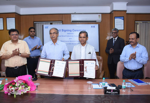 NSIC signs MoU with CSC for enhancing new offerings for the MSME sector