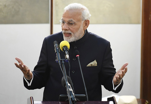 India becoming a global manufacturing and startup hub: PM