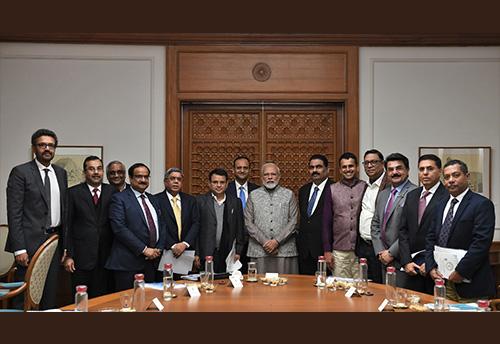To salvage sagging economy PM Modi meets MSME representatives