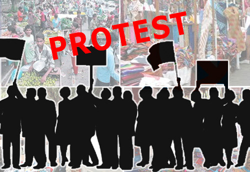 Street Vendors to sit on indefinite protest from today