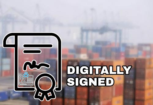 COVID-19: DGFT asks designated agencies to issue digitally signed electronic certificates of origin only