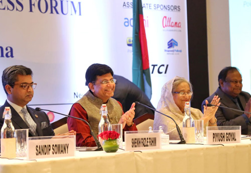 Piyush Goyal asks Indian industry to invest in Bangladesh