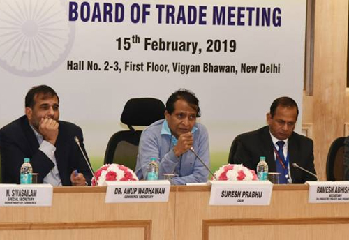 Prabhu launches 'Anytime-Anywhere' export awareness course to hand-hold exporters