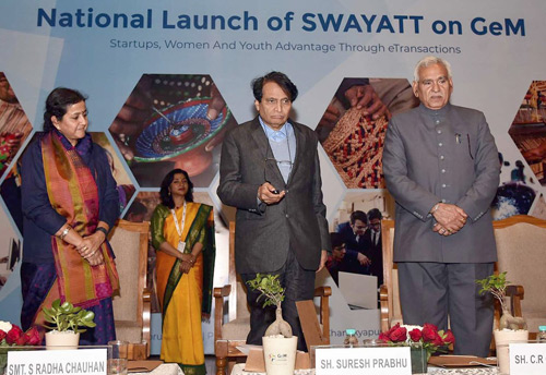 Prabhu launches Swayatt on GeM to promote MSMEs, women and young entrepreneurs