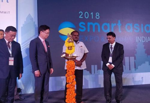 Karnataka Cm Inaugurates Smart Asia India 2018 Trade Show On Smart