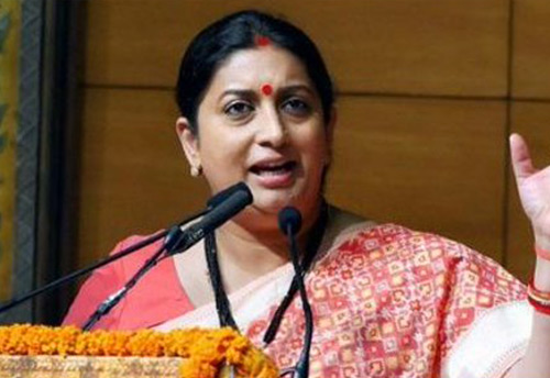 Govt to soon roll out 'Size India' project for Indian textiles and garment industry: Irani