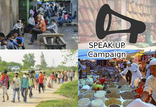 Congress to launch online campaign 'SpeakUp' on May 28 to raise voice of migrants, small businesses, poor & middle class