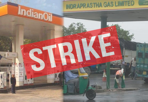 Around 400 Delhi fuel stations go on strike