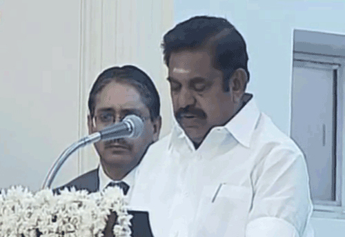 TN CM announces projects worth Rs 1,100 cr for industries & IT