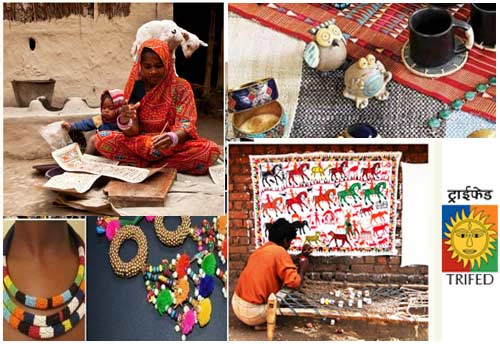 Indian Missions abroad to showcase Tribal artefacts through TRIFED